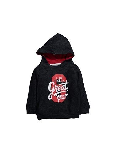 Zeyland Great Baskılı Kapüşonlu Sweatshirt (6ay-4yaş) Great Baskılı Kapüşonlu Sweatshirt (6ay-4yaş) Lacivert